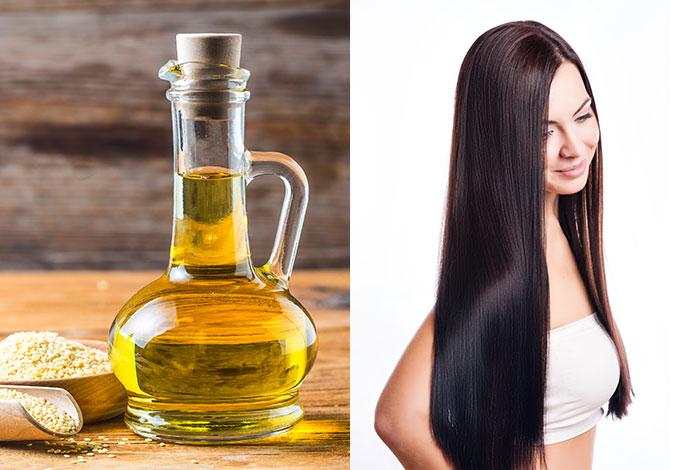 آشنایی با روش های تقویت مو با روغن کنجد
