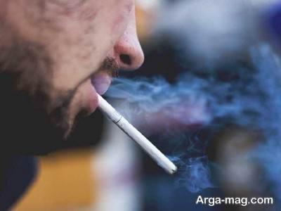 ارتباط لک های پوستی با سیگار