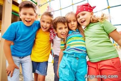 کودکان چگونه دوست می شوند؟