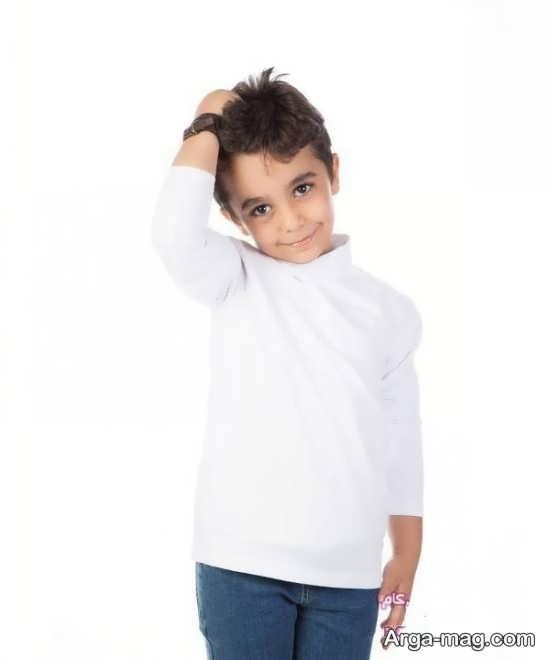 مدل لباس بچه گانه سفید باحال