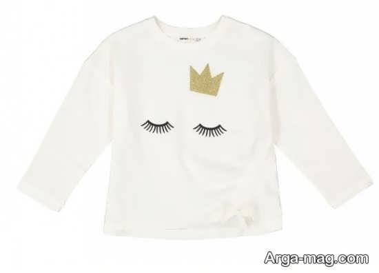 بهترین مدل لباس بچه گانه سفید