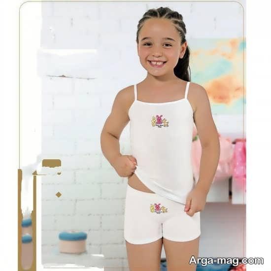 انواع جدید مدل لباس بچه گانه سفید