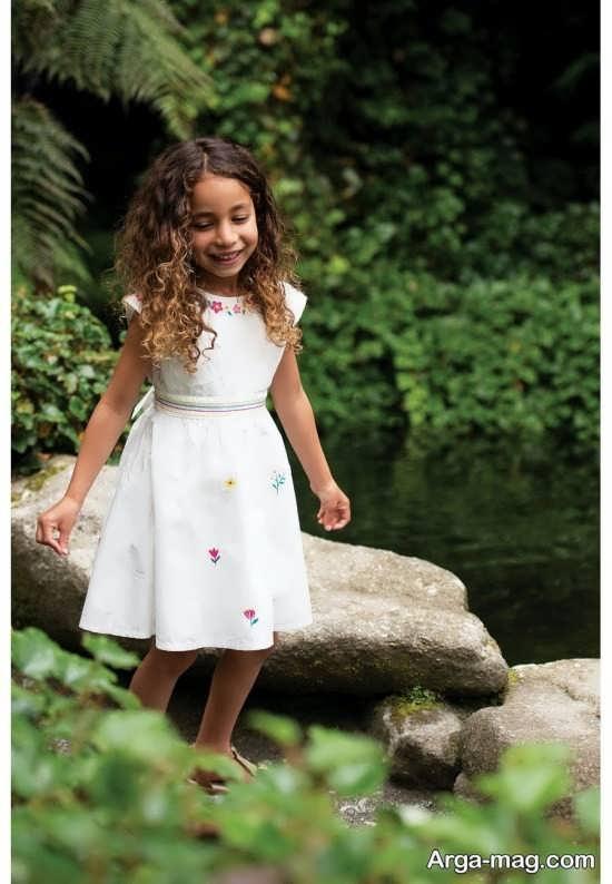 گالری جدید لباس بچه گانه سفید