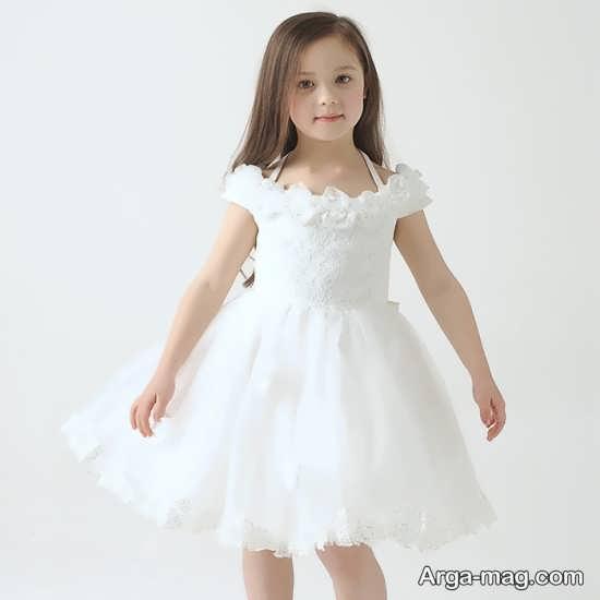 سری جدید مدل لباس بچه گانه سفید