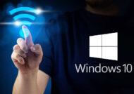 رمز وای فای در ویندوز 10