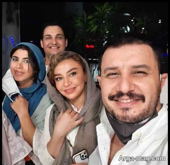 عکس های جواد عزتی در اکران عمومی زخم کاری