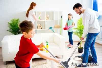 تقسیم کار در منزل