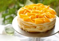 طرز تهیه کیک انبه خوش طعم