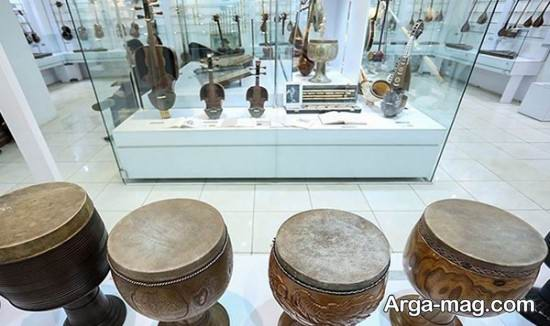 سازهای گنجینه موسیقی تهران