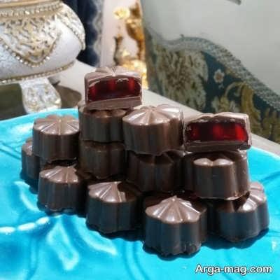 روش تهیه شکلات پاستیلی