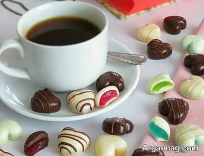 طرز تهیه شکلات پاستیلی