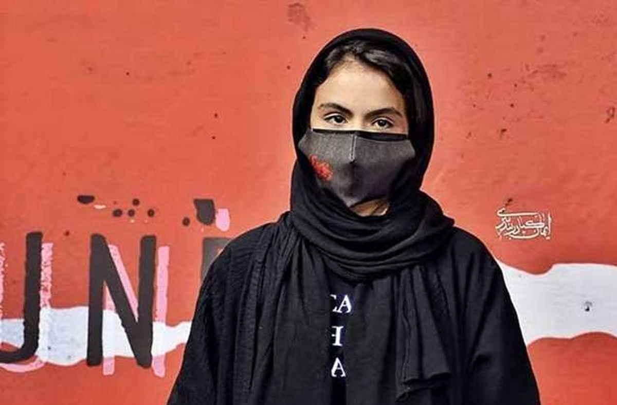 سارا حاتمی در مراسم اکران عمومی زخم کاری