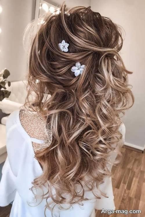 آرایش مو مخصوص عروس