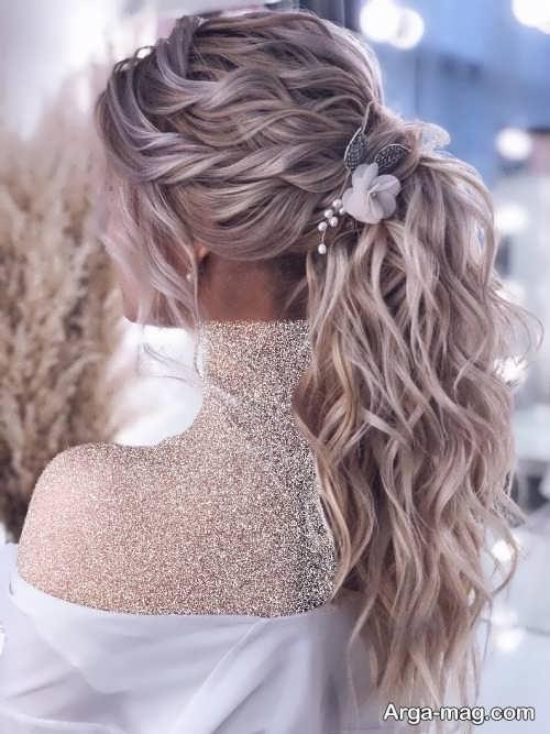 آرایش موی جذاب برای عروس