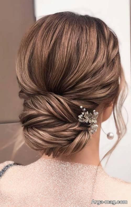 شینیون موی بسته عروس ۲۰۲۲