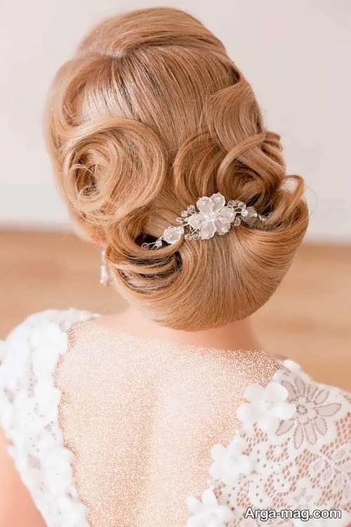 شینیون خاص و جذاب برای عروس در سال 2022