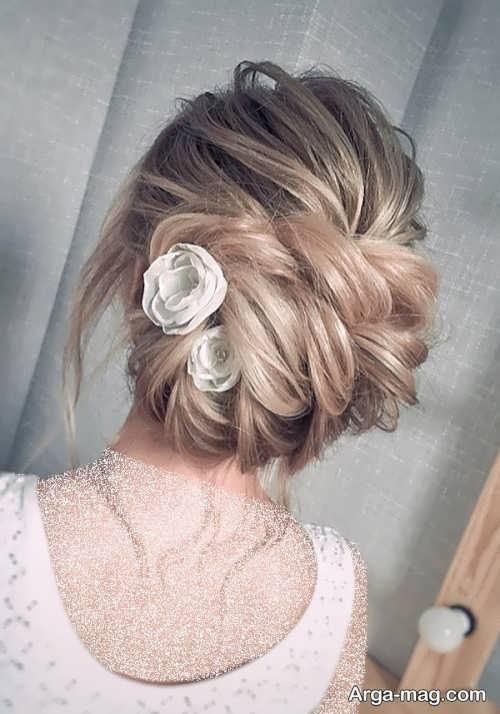 آرایش موی عروس در سال 2022