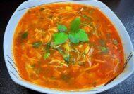 طرز تهیه سوپ رشته فرنگی عالی