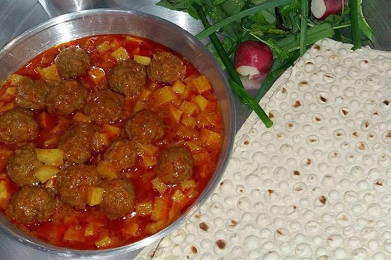 آموزش طرز تهیه خوراک کله گنجشکی