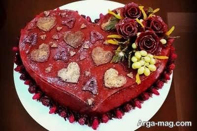 کیک لواشک خوش طعم
