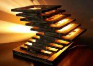 نحوه ساخت آباژور چوبی