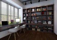 ایده های عالی و زیبا از دکوراسیون اتاق مطالعه