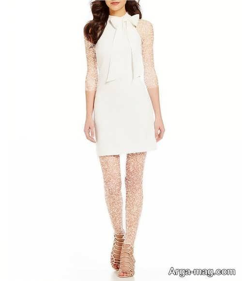 مدل لباس مجلسی سفید 2022