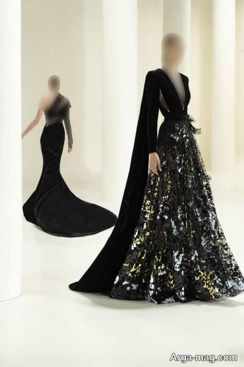 مدل لباس مجلسی کار شده زنانه ۲۰۲۲