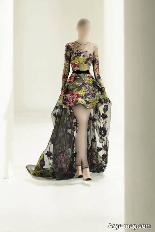 لباس مجلسی کار شده و زیبا