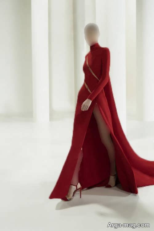 لباس مجلسی قرمز زنانه ۲۰۲۲