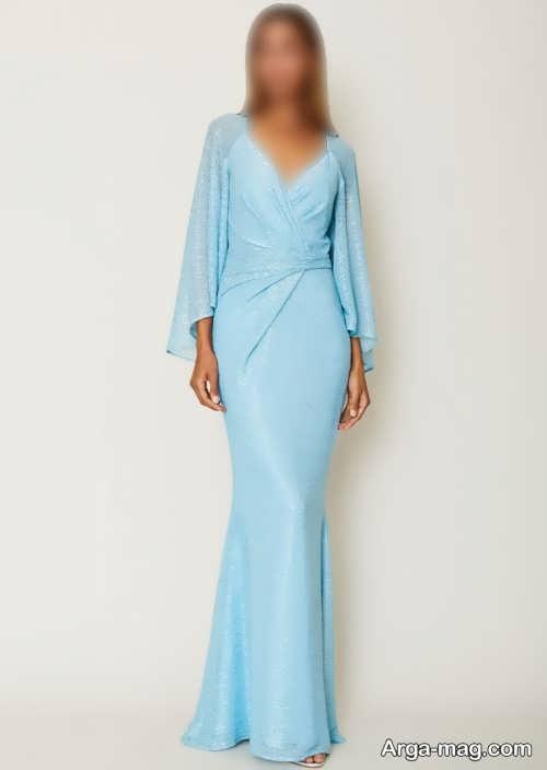 لباس مجلسی آبی زنانه ۲۰۲۲