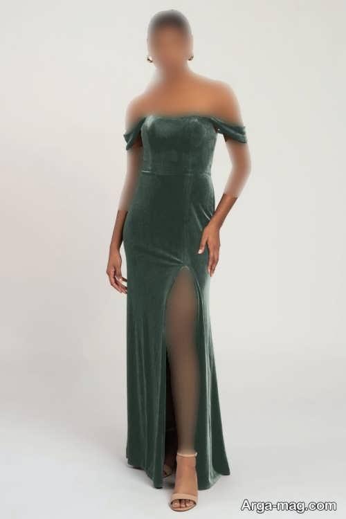 لباس مجلسی سبز زنانه ۲۰۲۲