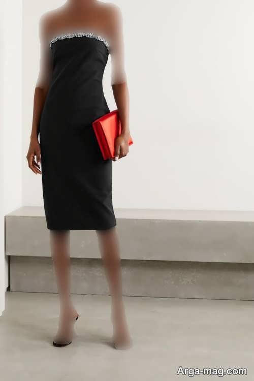 لباس مجلسی زنانه 2022 کار شده و شیک