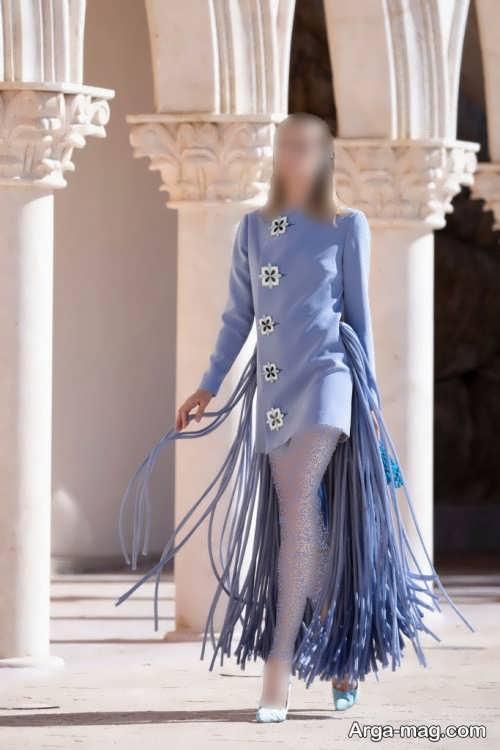 لباس مجلسی کار شده زنانه 2022