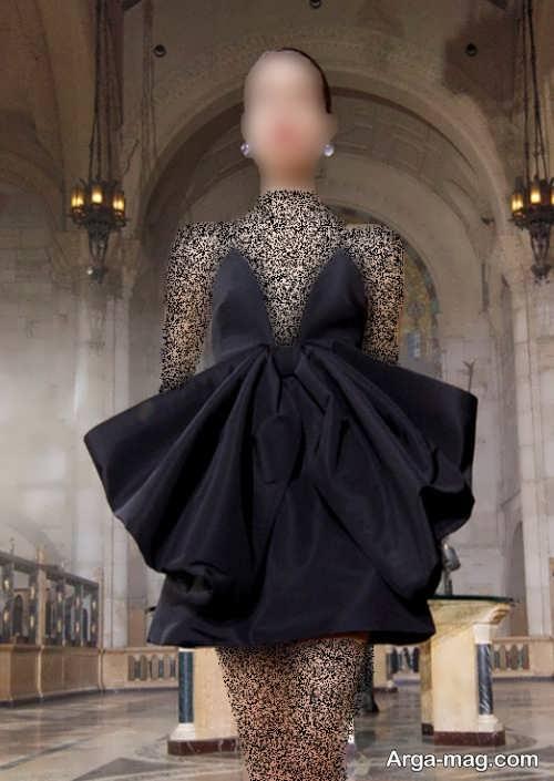 لباس مجلسی کوتاه زنانه 2022