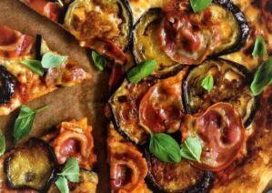 آموزش طرز تهیه پیتزا بادمجان